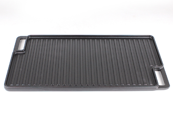rectangle skillet plate reversible griddle pan