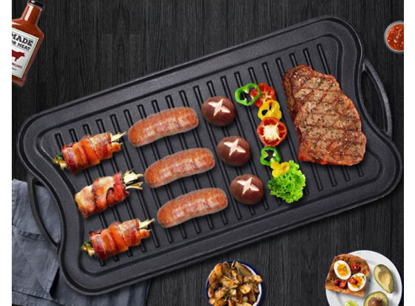 Roasting BBQ Grill Griddle Pan
