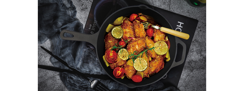 12 Inches Cast Iron Frying Pan