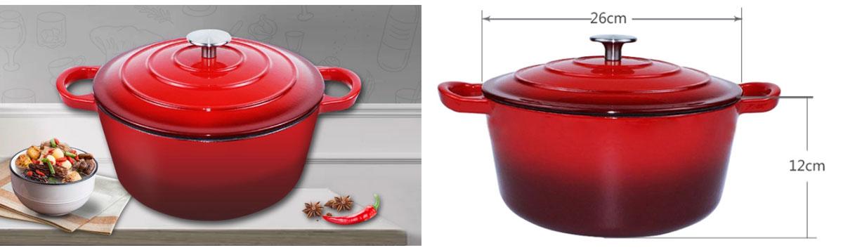 Sarchi Cookware Cast Iron Soup Pot