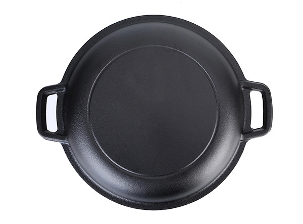 Pre-Seasoned 2 in 1 Enameled Cast Iron Double Dutch Oven with Skillet Lid