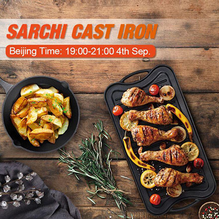 2020 Inspection Of Sarchi Cast Iron Cookware