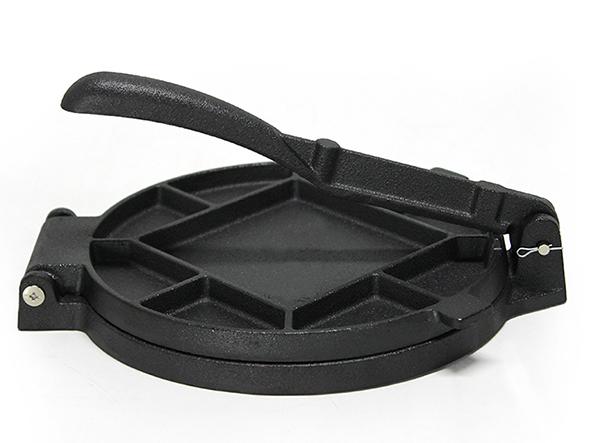 7 inch Pre-seasoned Cast Iron Tortilla cooking press