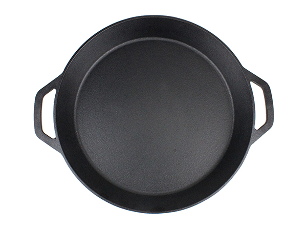 cast iron deep pizza pan