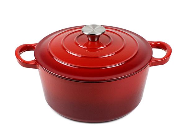 Cast Iron Soup Pot Enameled Stock Pots Enamel Coating Cast Iron Cookware Casseroles