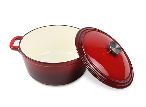 enamel cast iron dutch oven casserole