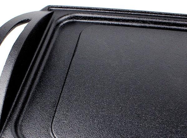 cast iron frying pan grill pan griddle pan