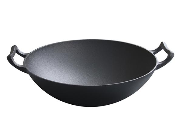 Pre-seasoned Cast iron wok