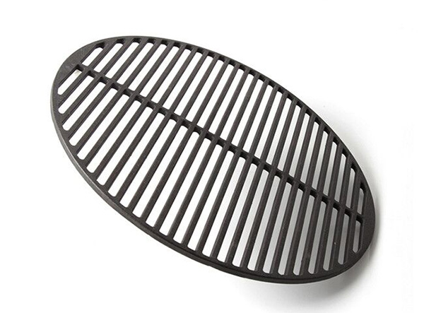 cast iron round bbq charcoal roaster grill grate